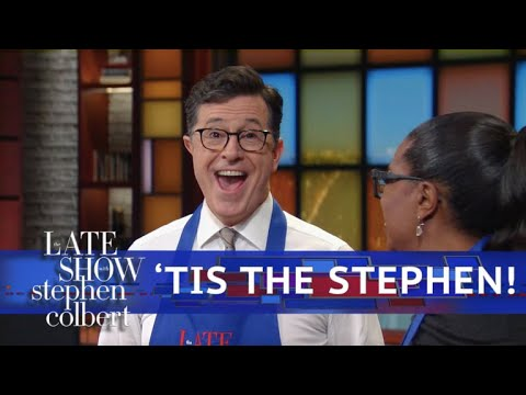 Stephen's Greetings: 2017 Late Show Year In Review