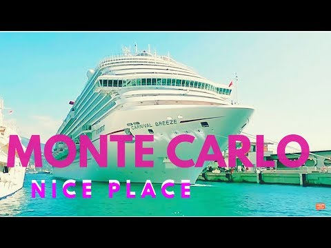 Our Cruise Stop in Monte Carlo!