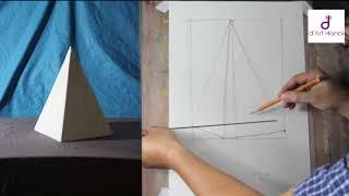Bài 05: Hướng dẫn dựng hình khối chóp kim tự tháp