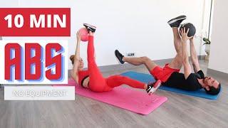 10 DAKİKADA ETKİLİ KARIN KASI EGZERSİZİ | 10min ABS Workout | FITINSANE |