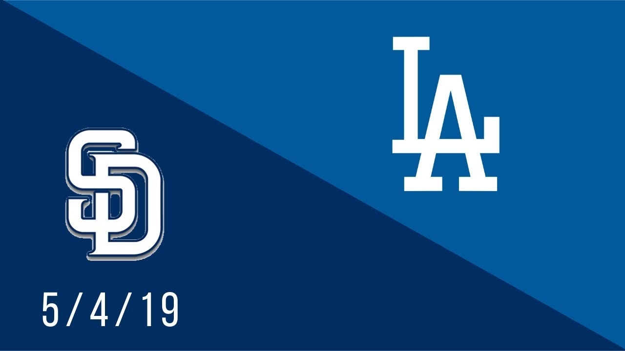 Los Angeles Dodgers vs San Diego Padres - Full Highlights Game - 5/4/19