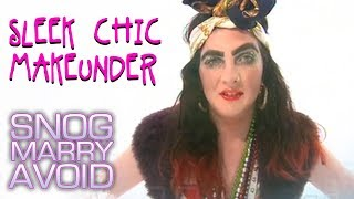 Girl With Massive Eyebrows | Makeunder | Snog Marry Avoid