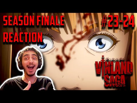 This Got Emotional. | Vinland Saga - Episodes 23 & 24 REACTION!! | Finale