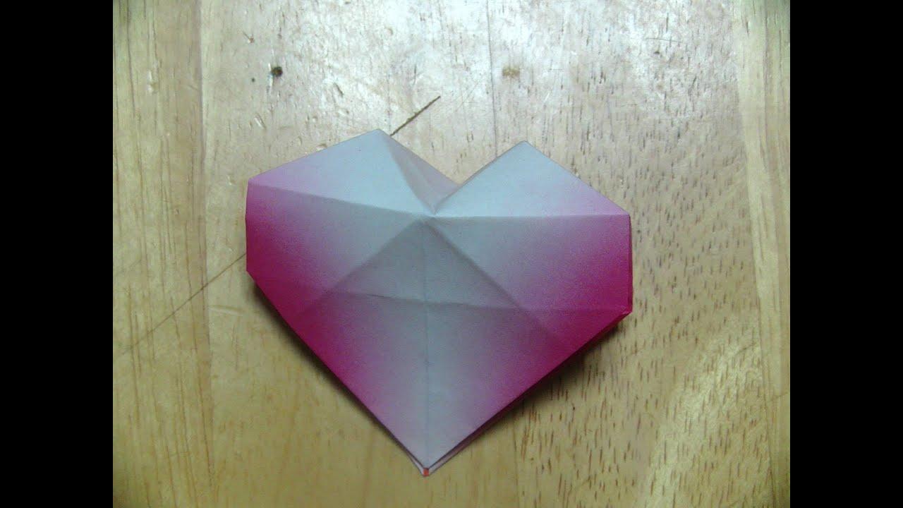 ハート 折り紙 立体 ハート 折り紙 : 折り紙(おりがみ)・立体 ...
