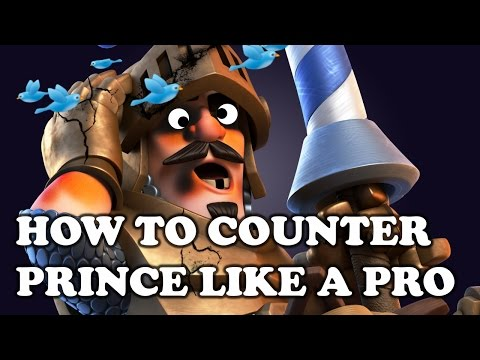 Clash Royale | How to Counter Prince Like a Pro