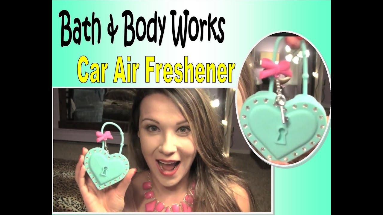 bath body works car locker air freshener review demo youtube. Black Bedroom Furniture Sets. Home Design Ideas