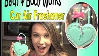 ✭Bath & Body Works Car/Locker Air Freshener Review & Demo✭