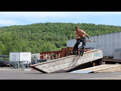 BMX - Inside The Mind + DIY Skatepark of Derek Nelson