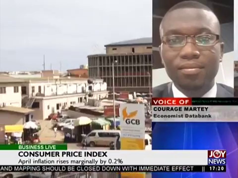 Consumer Price Index - Business Live on JoyNews (10-5-17)