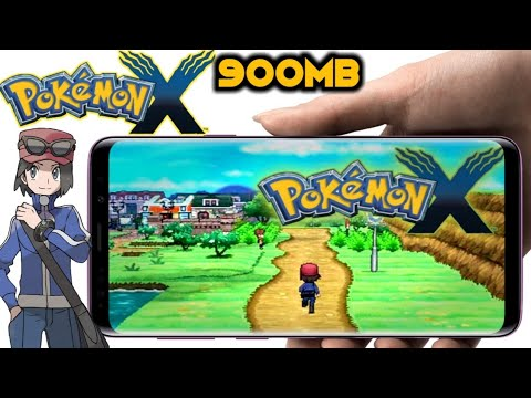 How To Download & Install Pokemon X Highly Compressed For Android {900MB}