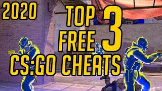 CS:GO | TOP 3 FŔEE CSGO CHEATS | WORKS IN TRUSTED MODE 2020 | UNDETECTED