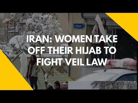 Iran: Women take off their hijab to fight veil law