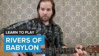 """How to play """"Rivers of Babylon"""" by Sublime (Guitar Chords & Lesson)"""