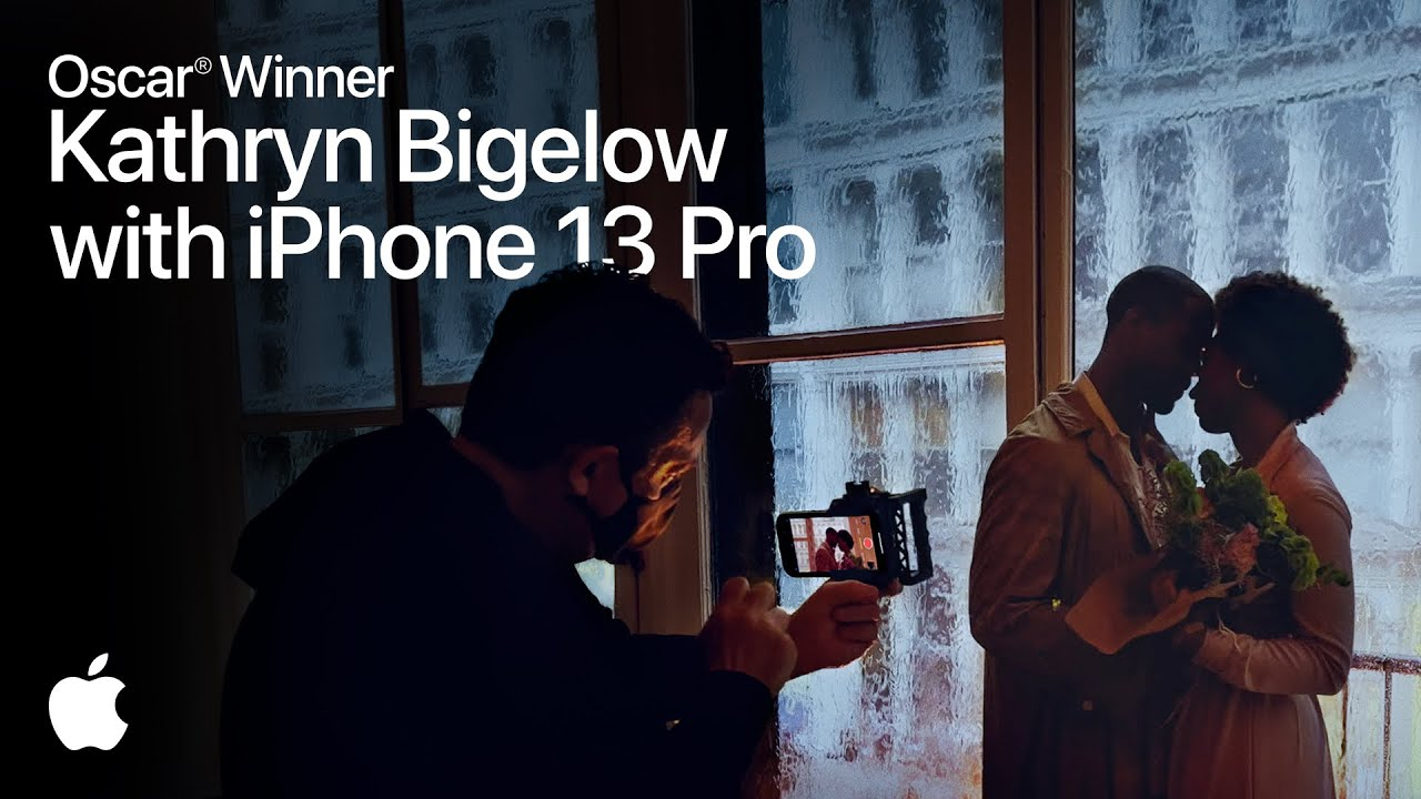 Download On set with iPhone 13 Pro Featuring 2x Oscar® Winner Kathryn Bigelow | Apple