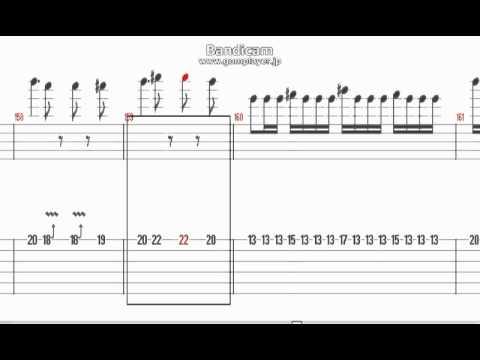 Silent Jealousy  X Japan TAB譜 【Tux Guitar】