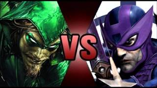 You Have Failed This City (Green Arrow vs Hawkeye)