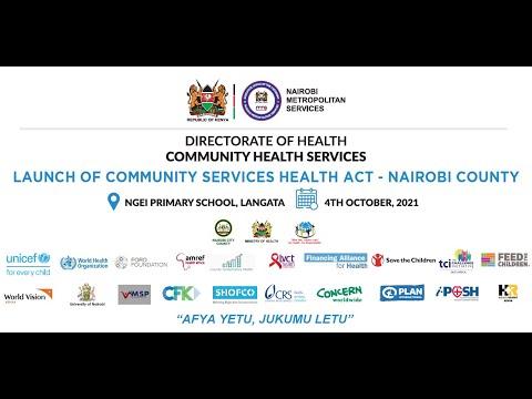 NAIROBI METROPOLITAN SERVICES. (NMS) DIRECTORATE OF HEALTH SERVICE .