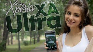 Видео-обзор смартфона Sony Xperia XA Ultra! Только качественные селфи!