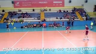 U15 boys. Group M02 gr 2 (P-B). Lajkonik cup 2017. CYSS 3 (UKR) - MKS MOS Wroclaw - 10:8 (1st half)