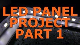 Workshop LED Panel Light Build Part 1