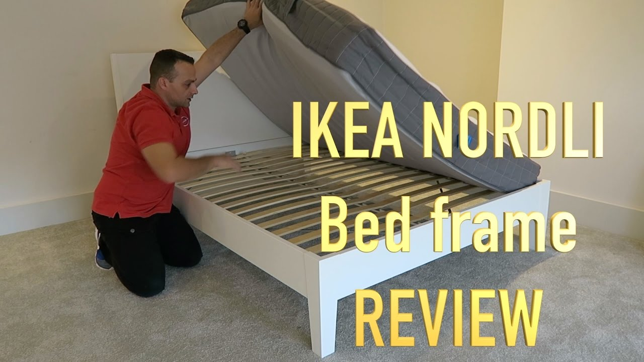 Ikea nordli double bed review youtube Ikea nordli storage bed review