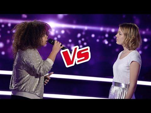 Manoah VS Hélène   « Les filles d'aujourd'hui » (Joyce Jonathan et Vianney) | The Voice France 2017