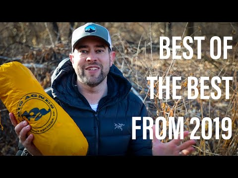 Favorite Backpacking Gear Of 2019   Best Of The Best w/ a honorable mention