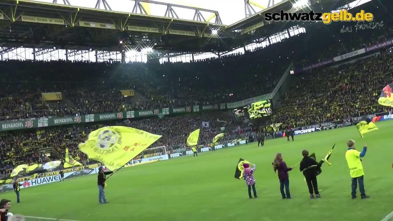 BVB - Gladbach Stimmung Borussia Dortmund 15.3.2014