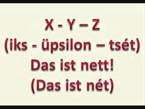 Alphabet-Lied