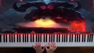 Ornn, the Fire Below the Mountain Login Screen | League of Legends Piano
