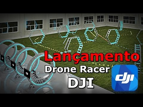 Drone Racer DJI - DJI Racer - DJI Drones Racer Presentation - FVM