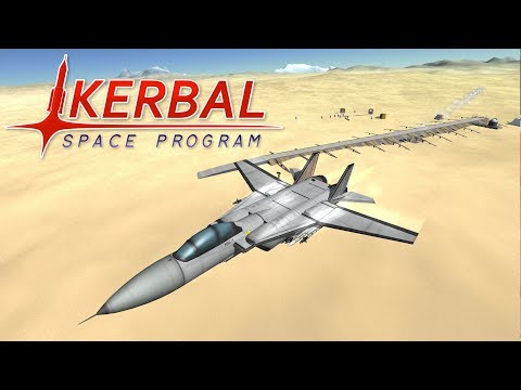 Fighter Jet Showdown 3 (Part 1) - Desert Combat - Kerbal Spa