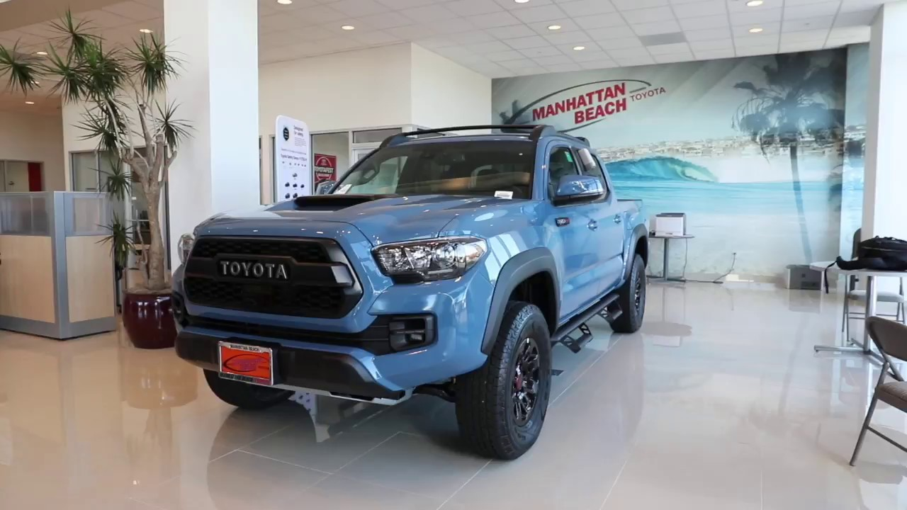 2018 Toyota Tacoma TRD PRO 4x4 At Manhattan Beach Toyota