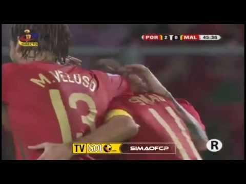Portugal 2-0 Malta - Simao Goal