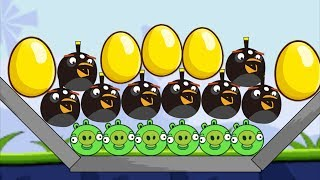 Angry Birds BOMB - SKILL GAME BLOW ALL BAD PIGGIES!