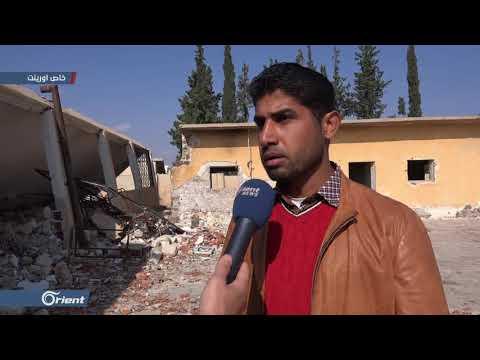 نزوح مئات العوائل جنوب إدلب نتيجة قصف ميليشيا أسد الطائفية للمنطقة  - 16:54-2018 / 11 / 13