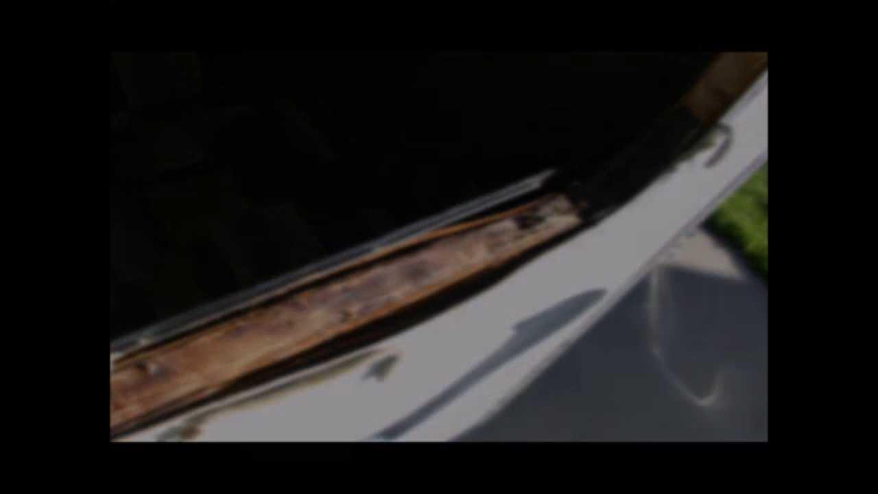 Diy Fix For Rv Trailer Camper Motorhome Fiberglass Siding Bubbles Bulges Youtube