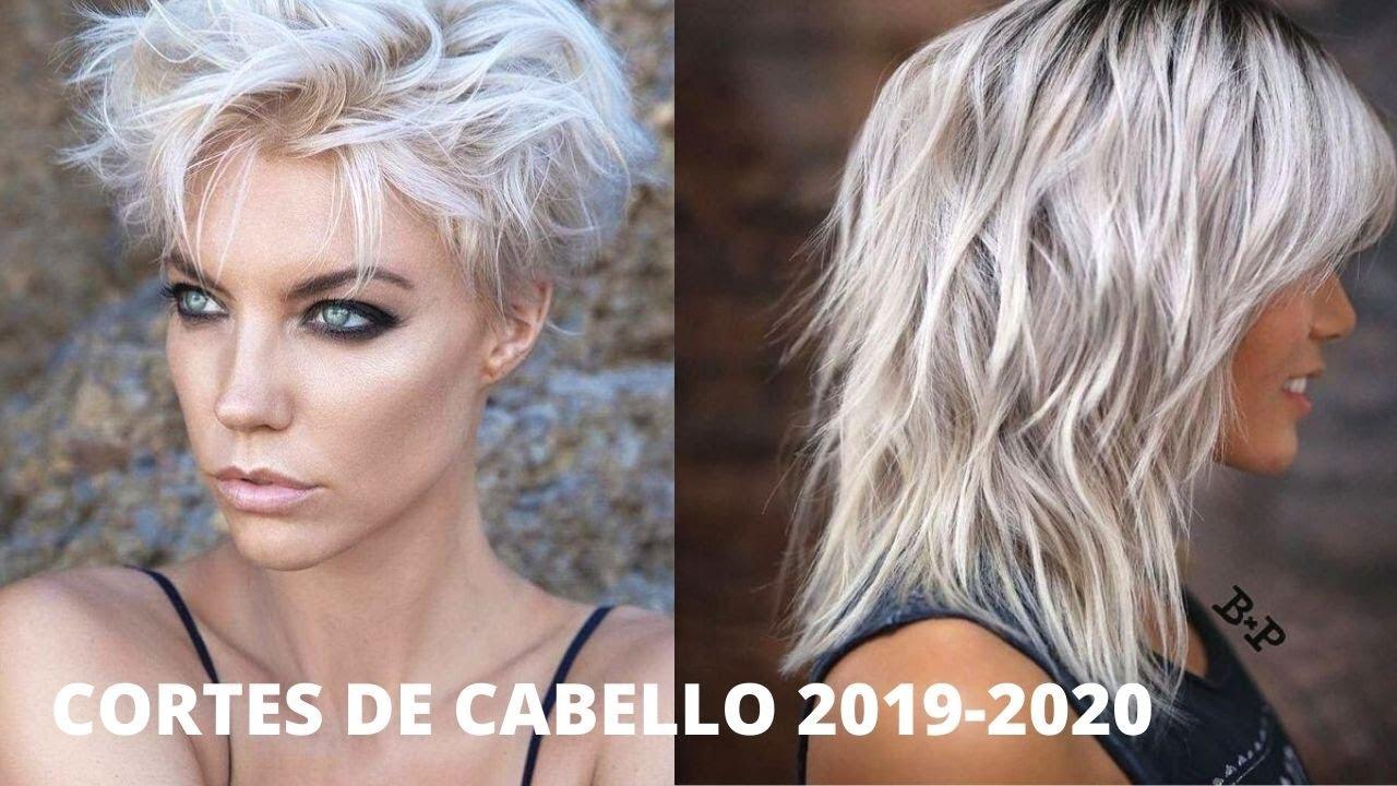 CORTES DE PELO MUJER 2019-2020 / TENDENCIAS EN CORTE DE CABELLO - YouTube