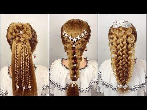 Easy Hairstyles Tutorials For Girls ❤️ TOP 10 Amazing Hairstyles Compilation 2019 ❤️ Part 6 ❤️ HD4K