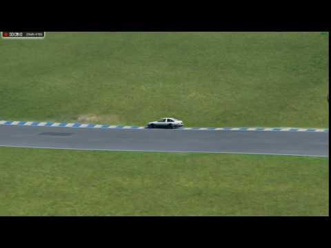 Assetto Corsa Toyota AE86 tuned Circuit Mas Du Clos - Full Circuit