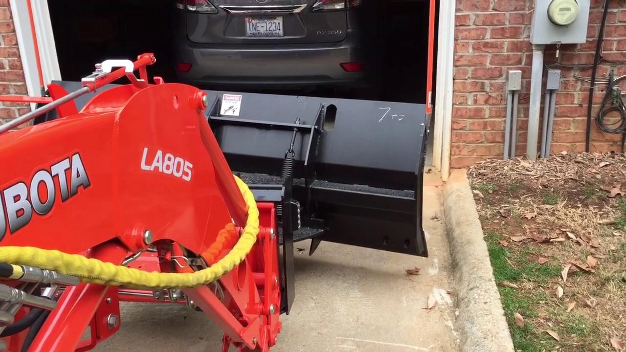 Kubota Hydraulic Diverter Installation Complete