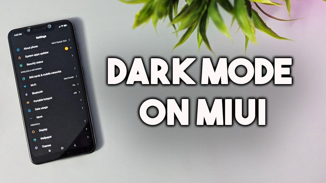 How to Use DARK MODE on Any Xiaomi MIUI Phone [NO ROOT]