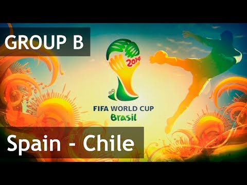 #19 Spain - Chile (Group B) 2014 FIFA World Cup