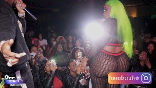 Safaree Refuses To Dance With Yanique On Stage (Curvy Diva)
