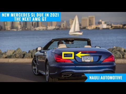 Woww New Mercedes Sl Due In 2021 Being Developed Alongside The Next Amg Gt Youtube