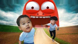 국민이가 티비 속으로 들어갔어요! 헬로카봇 뽀로로 타요 키즈카페 서울애니메이션센터 Animation Indoor playground