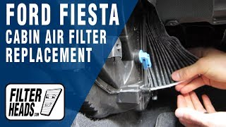How to Replace Cabin Air Filter Ford Fiesta