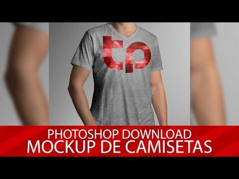 Photoshop Download: Mockup de Camisetas