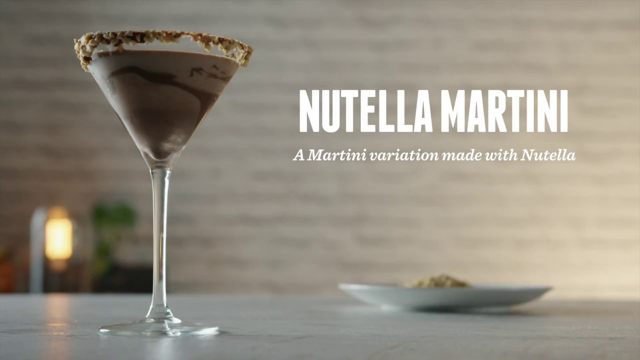 Baileys Chocolatini Cocktail how to make a nutella martini | cocktail recipes