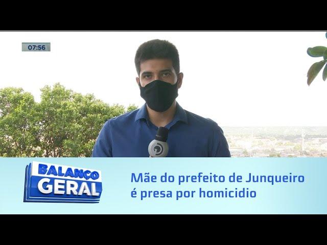 Homicidio em 2005: Mãe do prefeito de Junqueiro é presa; ela teria esfaqueado homem até a morte